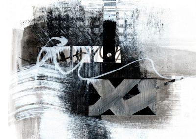 Black, White, Gray Series #2620, 8.5.x 8.5