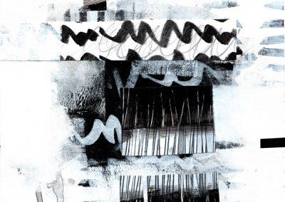 Black, White, Gray Series #4920, 8.5.x 8.5
